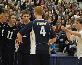 UBCO Men's Volleyball Team