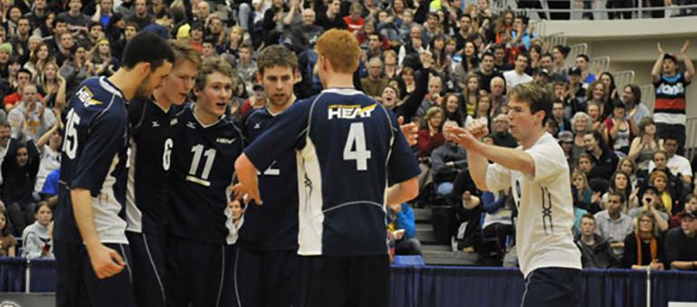 UBCO Men's Volleyball Team