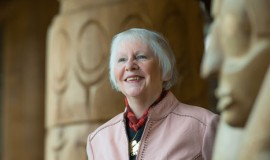 Thelma Sharp Cook, professor emerita in the UBC Faculty of Education
