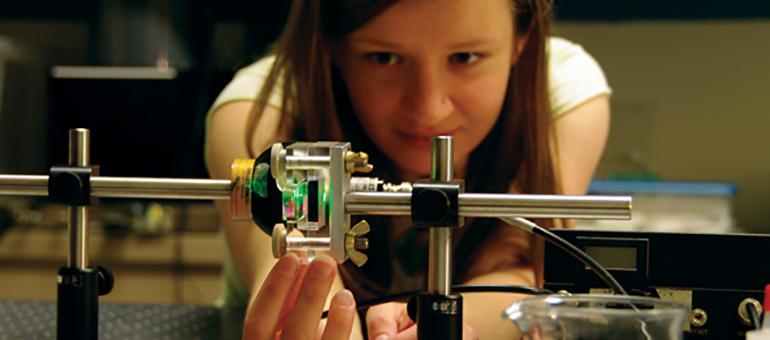 UBC Science 101 student