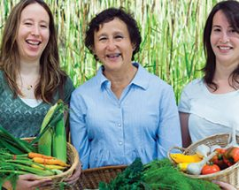 UBC Farm produce and people