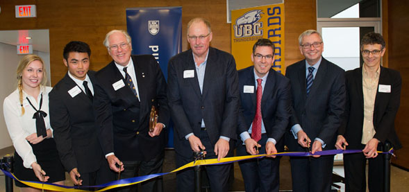 Ribbon Cutting Ceremony for Gerald McGavin UBC Rugby Centre