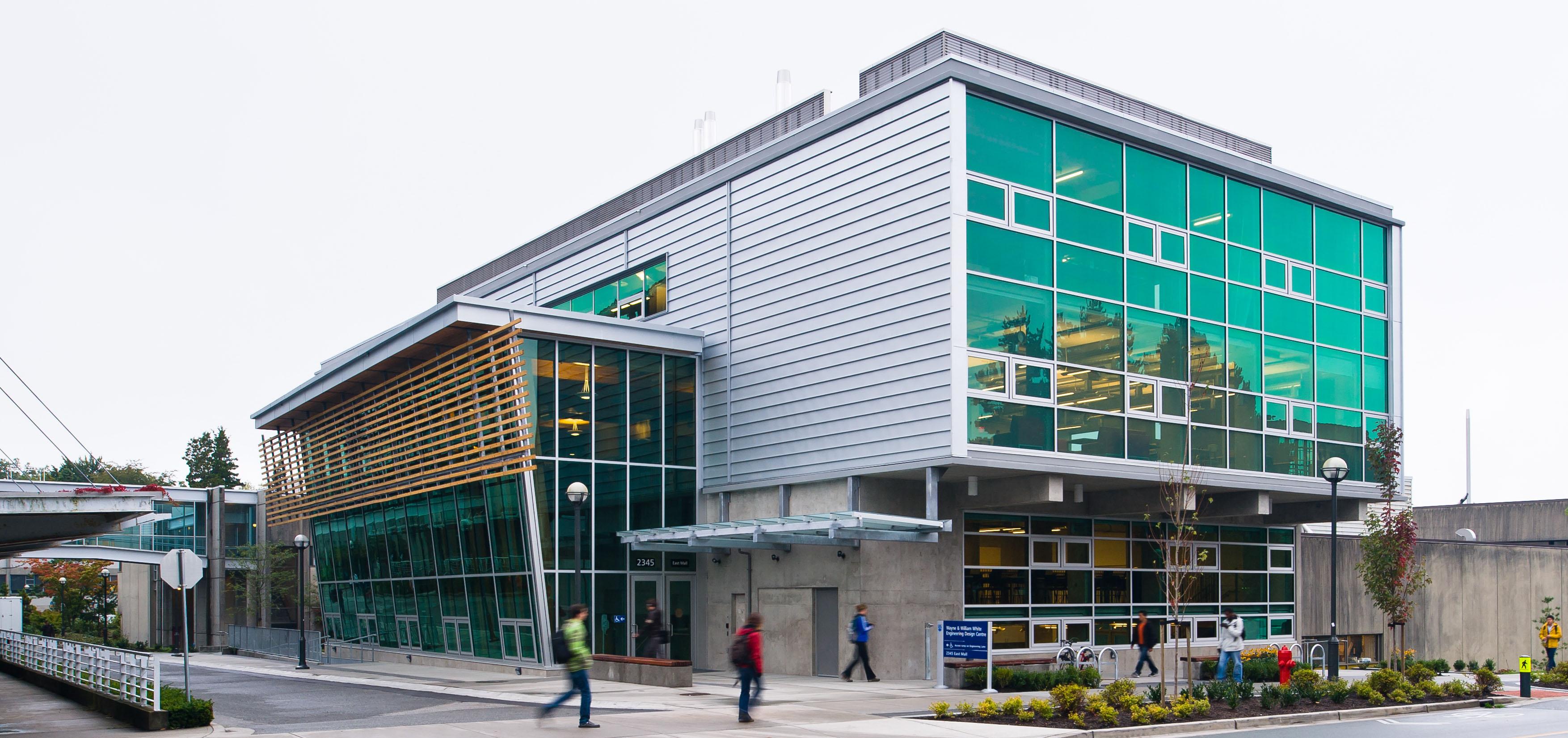 Wayne And William White Engineering Design Centre