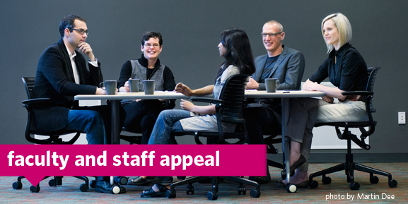 faculty and staff appeal