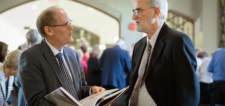 Derek Hayes and David Farrar (UBC Library)