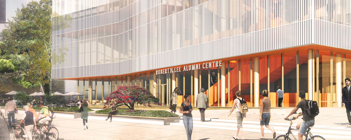 UBC names the Robert H. Lee Alumni Centre