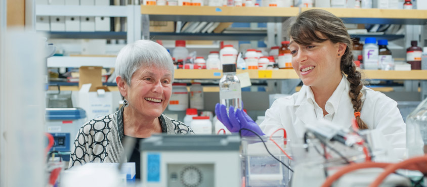 Dr. Irene Bettinger & Dr. Judith Maxwell Silverman (photo by Martin Dee)-844x370