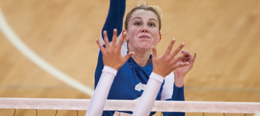 UBC Women's Volleyball players