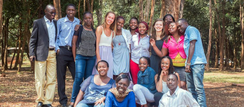 UBC students in Kenya