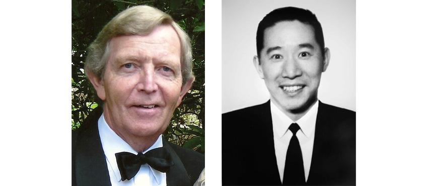 (L) Robert Dickson, (R) Glen Kong