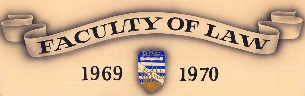 Class of 70 banner