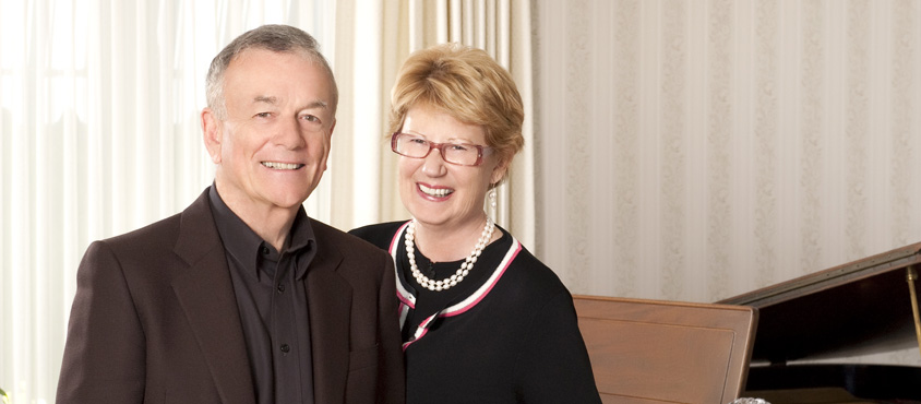 Roy and Gunilla Barnett. Photo: Frances Litman.