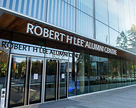 Robert H. Lee Alumni Centre: The Heart of the University