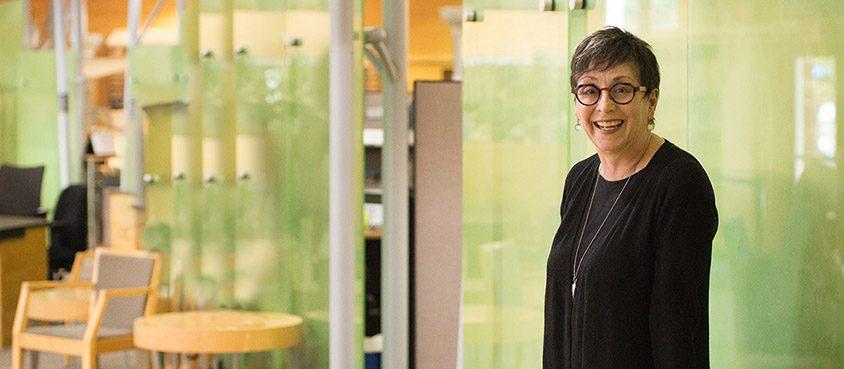 Dr. Kathleen Ross (EdD 2011). Photo: Paul Joseph/UBC