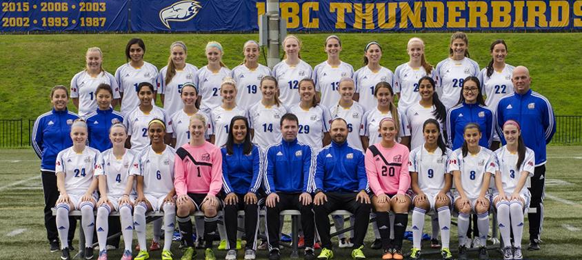 UBC Varsity Women's Soccer Team
