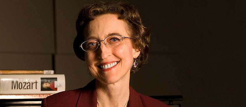 Elizabeth Lamberton MA'78, PhD'88. Photo: Chris Pfahl. Courtesy of Kwantlen Polytechnic University.