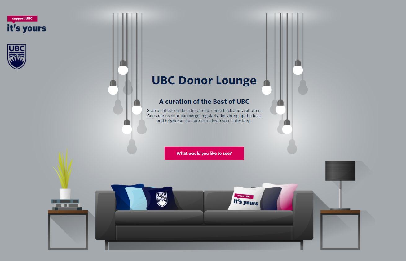 UBC Donor Lounge