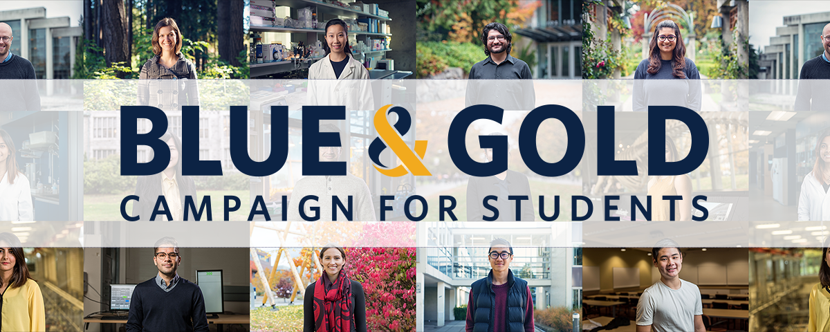 Blue and Gold Campaign for Students