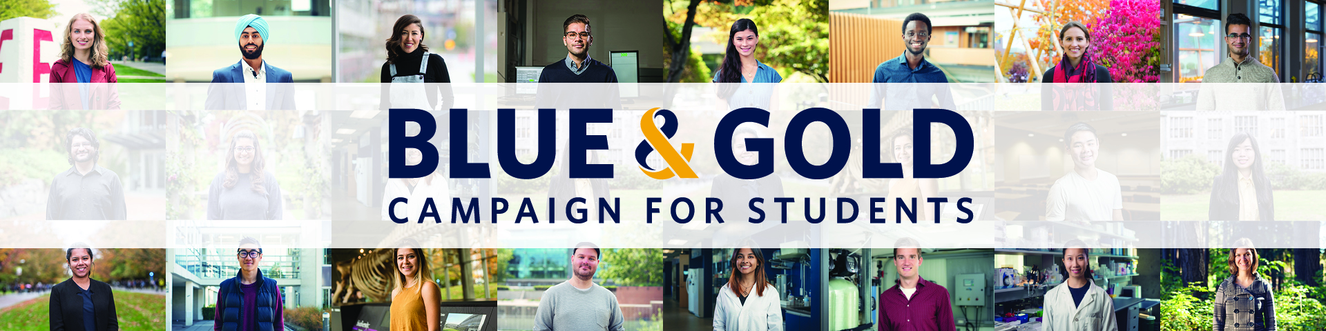 Blue & Gold Campaign for Students