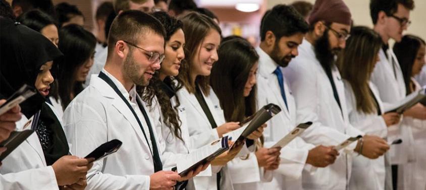 UBC Pharm Sci Whitecoat Ceremony