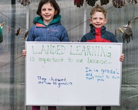 Intergenerational Landed Learning