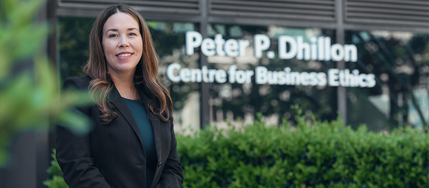 UBC Sauder's Peter P. Dhillon Centre for Business Ethics names inaugural Academic Director