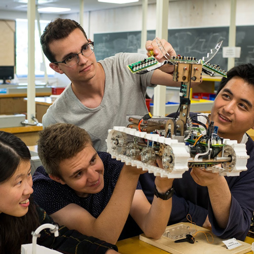 UBC Engineering and Physics students