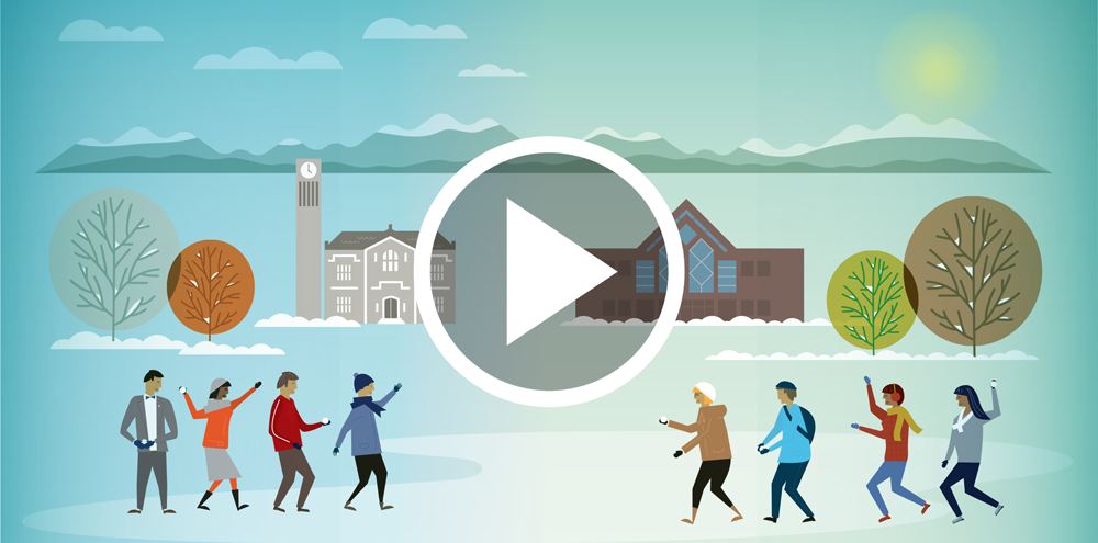Snowball Fight | Happy Holidays from UBC DAE!