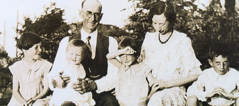 Andrew Clunas family