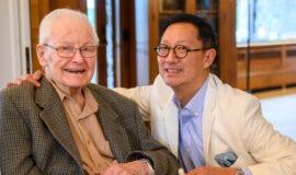 Dr. Colin McCaffrey with SJO