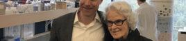 Dr. Haakon Nygaard and Irene Graham