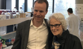 Dr. Haakon Nygaard and Irene Graham